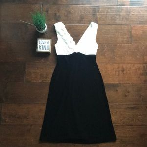 FINAL NWT Holiday Party Connected Apparel Dress 8